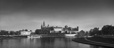 Wawel Hill in Krakow Stock Image