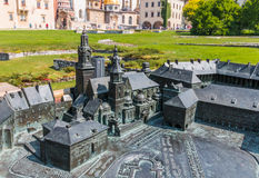 Wawel Hill- with model- Cracow -Poland Royalty Free Stock Images