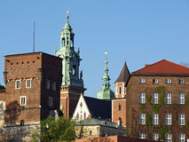 Wawel Hill Wawel Castel Krakow Royalty Free Stock Photo