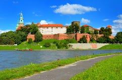 Wawel königliches Schloss in Krakau, Polen Stockfotos