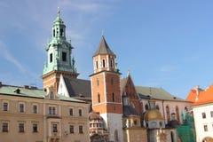 Wawel katedra w Krakowskim, Polska fotografia stock