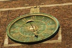 Wawel katedry zegar Zdjęcie Royalty Free