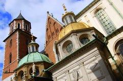 Wawel Kathedrale Stockfotografie