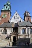 Wawel Kathedrale Stockfoto