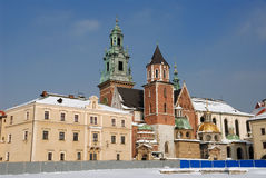 Wawel Kathedrale in Krakau Lizenzfreies Stockbild