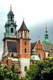 Wawel Kathedrale in Krakau, Polen stockbild
