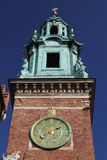Wawel klockstapel Arkivbilder
