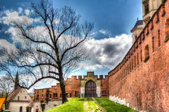 Wawel Koninklijk Kasteel Stock Foto's