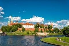 Wawel in Krakau Royalty-vrije Stock Fotografie