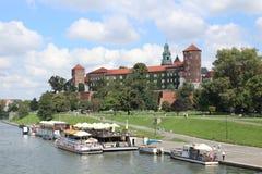 wawel krakow замока Стоковая Фотография