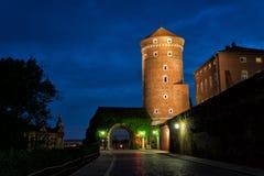 Wawel in Krakow. Entrance to Wawel castle in Krakow, Poland Royalty Free Stock Photos