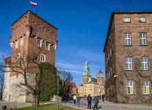 Wawel, Krakow - Poland royalty free stock photo