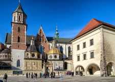 Wawel, Krakow - Poland royalty free stock images