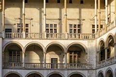 Wawel in Krakow Royalty Free Stock Images
