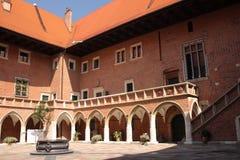 Wawel in Krakow, Royal Castle, Poland. Stock Image