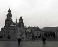 Wawel. Main dominance of Wawel in Krakov Stock Photography