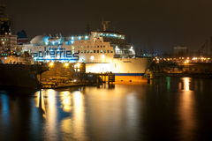 Wawel passenger ferry Royalty Free Stock Photography