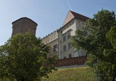 Wawel renaissance and gothic castle Royalty Free Stock Image