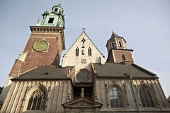 The Wawel Royal Castle Stock Photography