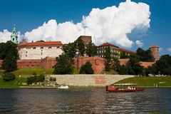 Wawel Royal Castle. Stock Photos