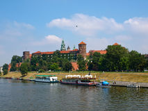 Wawel Royal Castle Royalty Free Stock Photography