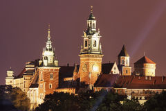 Wawel Royal Castle and Cathedral Stock Photography