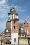 Wawel Royal Castle and Cathedral in Krakow, Poland stock photography