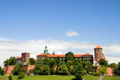 The Wawel Royal Castle in Cracow Stock Photography