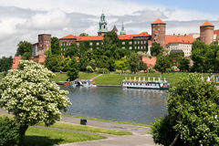 The Wawel Royal Castle in Cracow Royalty Free Stock Image