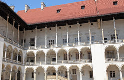 WAWEL royal castle in Cracow, Poland Royalty Free Stock Image