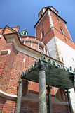 WAWEL royal castle in Cracow, Poland stock photography