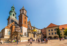 Wawel Royal Castle- Cracow-Poland Stock Photo