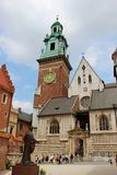 Wawel Royal Castle in Cracow, Poland Stock Image