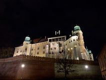 Wawel Royal Castle  - Krakow, Royalty Free Stock Image