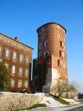 Wawel Royal Castle in Krakow Royalty Free Stock Images