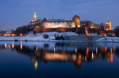 Wawel Royal Castle in Krakow Stock Photos