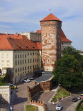 Wawel Royal Castle in Krakow Royalty Free Stock Photography