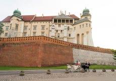 Wawel Royal Castle, Krakow, Poland Stock Image