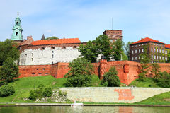 Wawel  Royal castle in Krakow (Poland) Stock Photography