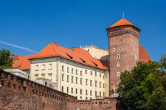 Wawel Royal Castle in Krakow, Poland Royalty Free Stock Photos