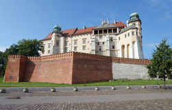 Wawel royal castle, Krakow, Poland Stock Photography