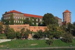 Wawel Royal Castle in Krakow Stock Photo