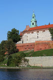 Wawel Royal Castle in Krakow Stock Images