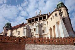 Wawel Royal Castle in Krakow Royalty Free Stock Photography