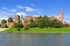 Wawel Royal Castle in Krakow, Poland. Stock Photo