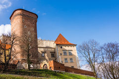 Wawel Royal Castle in Krakow Stock Photo