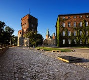 Wawel Royal Castle in Krakow, Poland. Stock Images