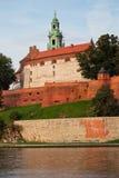 Wawel Royal Castle in Krakow Royalty Free Stock Image