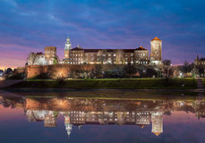 Wawel Royal Castle, Krakow Royalty Free Stock Photos