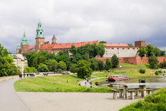Wawel Royal Castle in Poland Stock Photos
